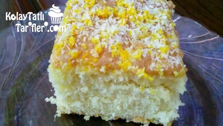 portakalli ve limonlu islak kek