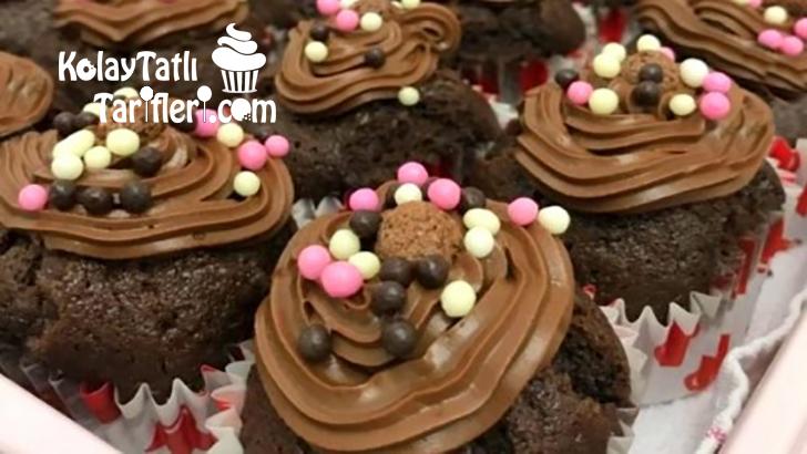 cikolatali cupcake