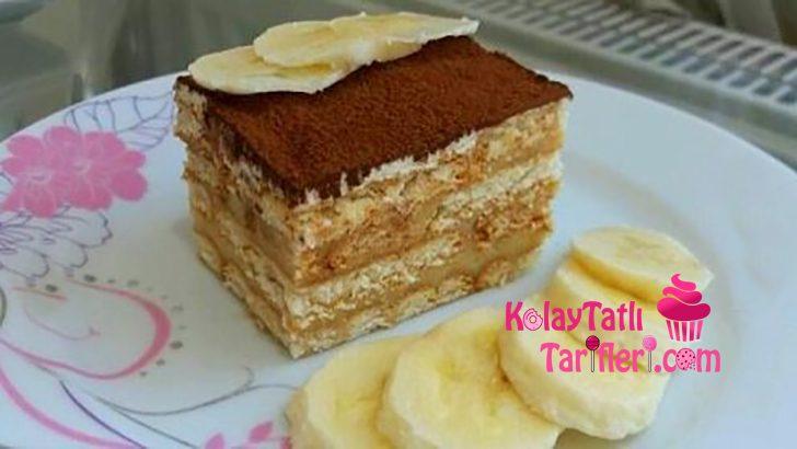 Kahveli Petibör Pastası