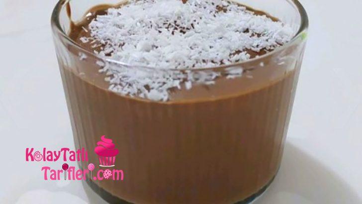 Çikolatalı Krem Puding