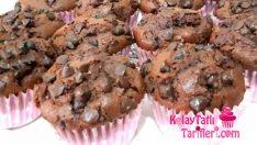 İçi Akışkan Çikolatalı Muffin