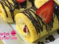 Meyveli Mini Rulo Pasta