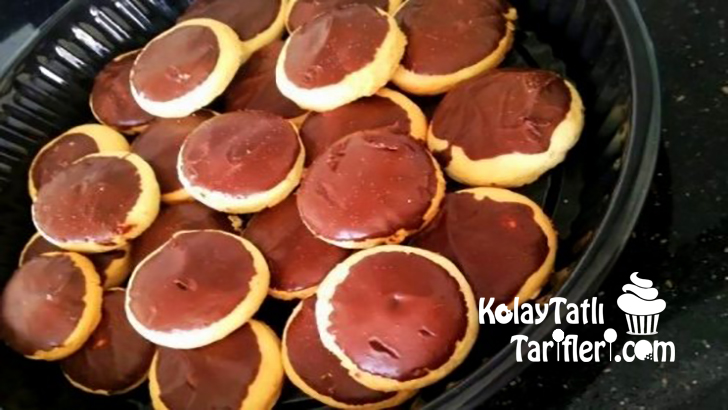 cikolata kapli kurabiye