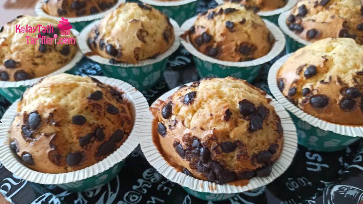 cikolatali muzlu muffin