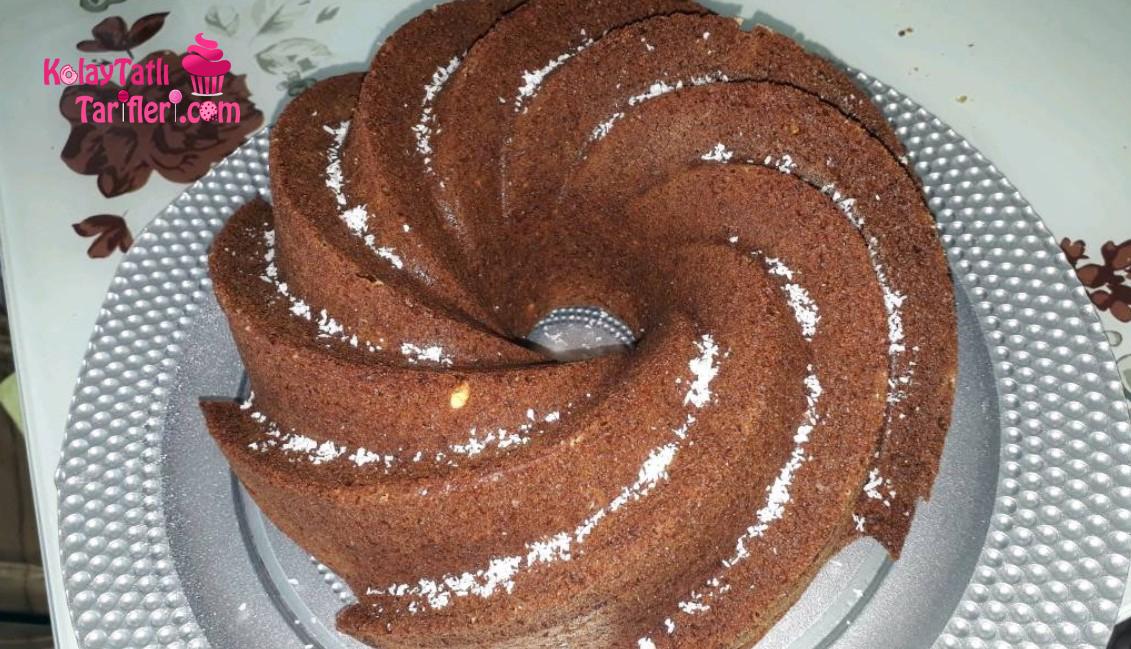 pudingli findikli kek