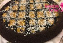 seftali soslu muhallebili tart kek