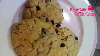 cevizli cikolatali kurabiye
