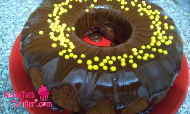 duble cikolatali kek